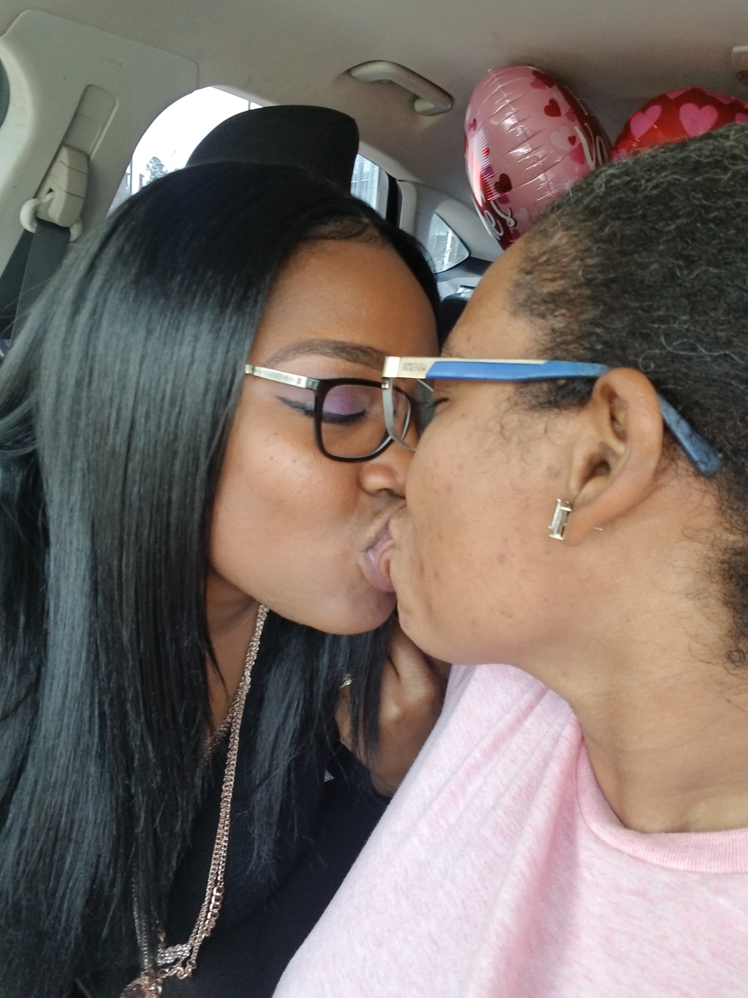 Ebony lesbian love